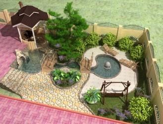 дизайн проект загородного участка