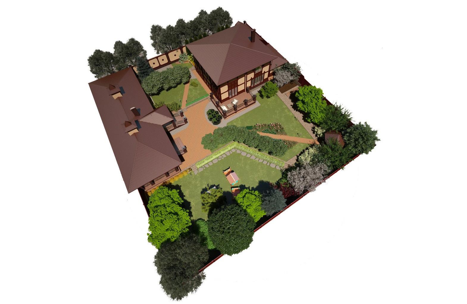 пример пояснительная записка к ландшафтному проекту