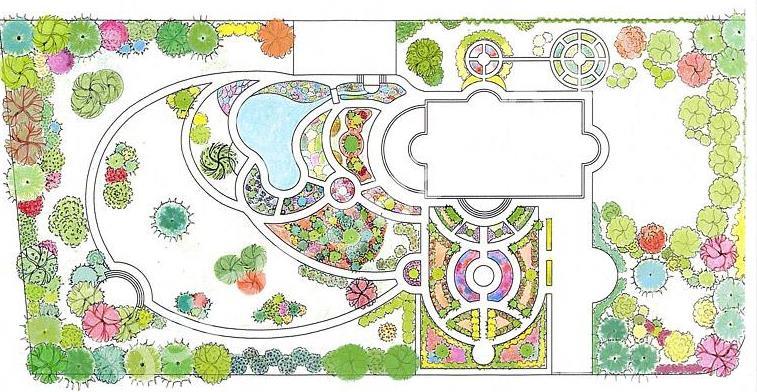 Изображение 'Проект ландшафтного дизайна'
